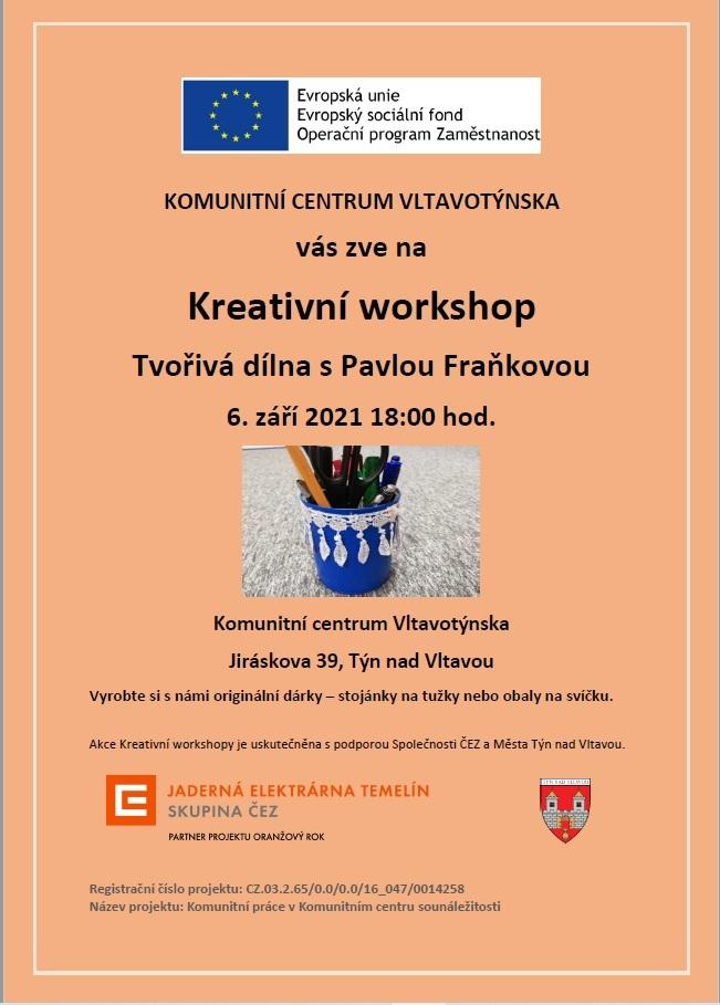 Kreativní workshop v Komunitním centru